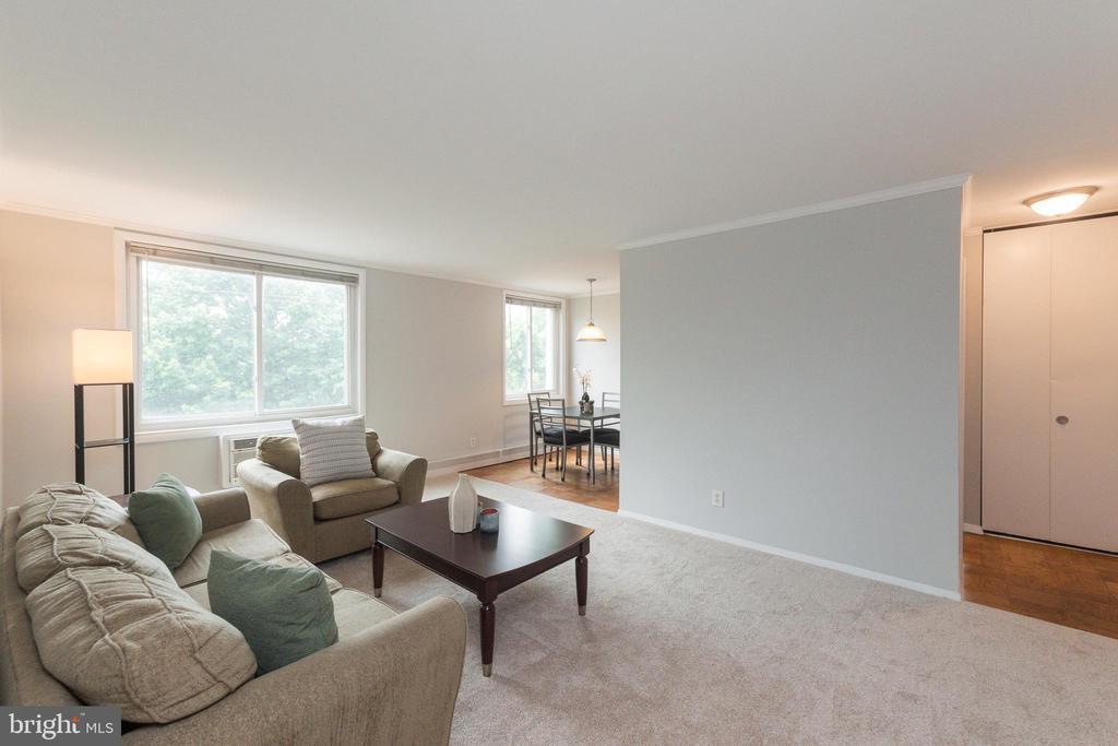 Living Room - 3000 7TH ST NE #319, WASHINGTON