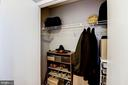 closet - 400 MASSACHUSETTS AVE NW #804, WASHINGTON