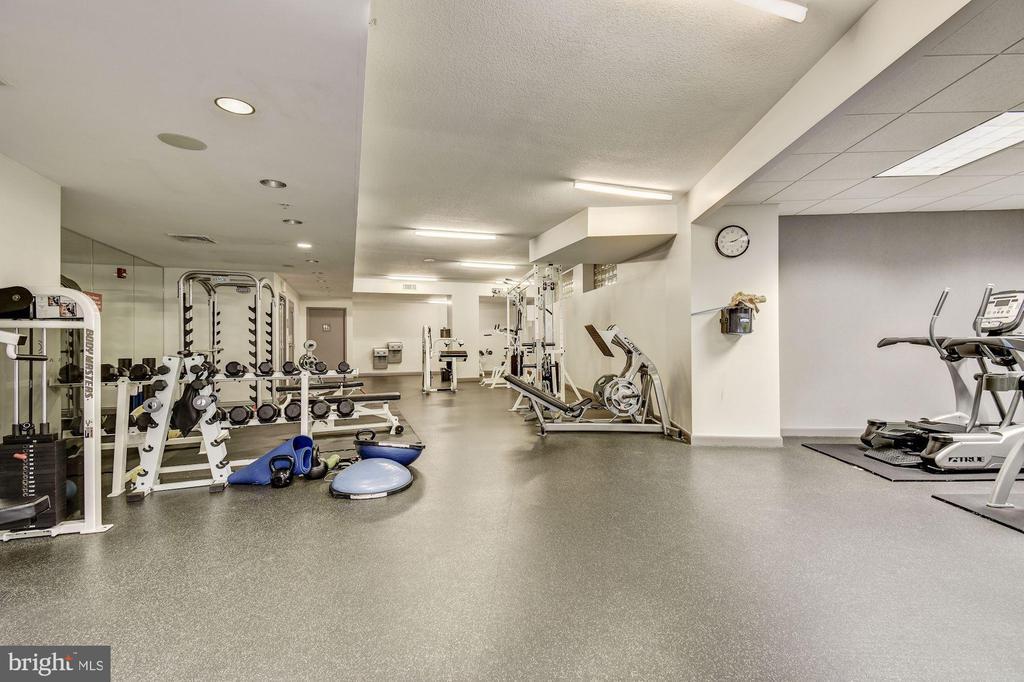 exercise room - 400 MASSACHUSETTS AVE NW #804, WASHINGTON