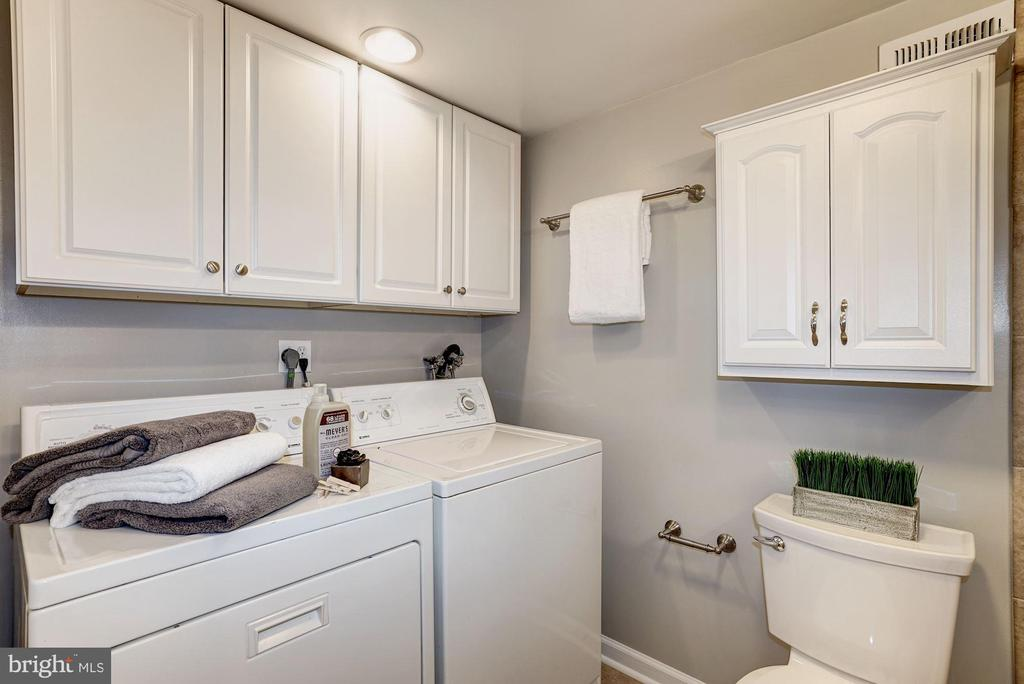 Laundry Room - Full Size Washer & Dryer + Storage - 4636 36TH ST S #A, ARLINGTON