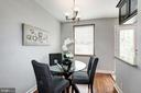 Dining Room - Brand New Refinished Hardwood Floors - 4636 36TH ST S #A, ARLINGTON