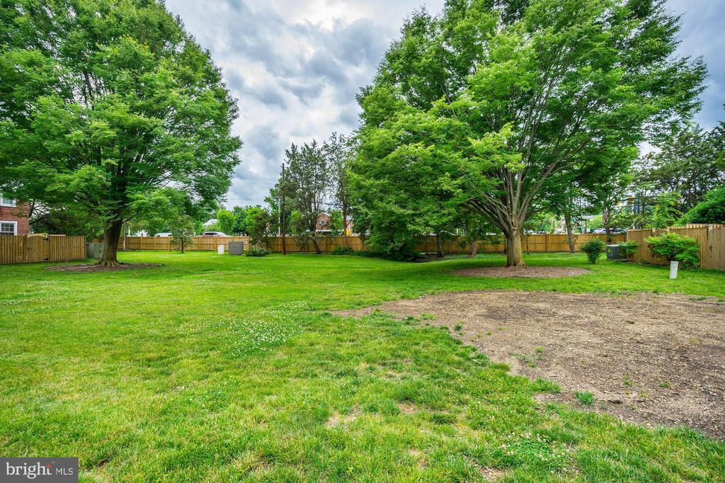 Back Yard Opens to AWESOME Large Grassy Courtyard - 4636 36TH ST S #A, ARLINGTON