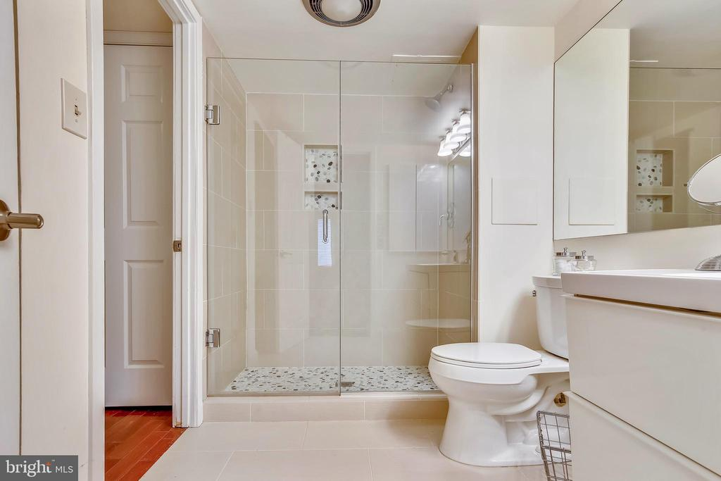 Renovated Bathroom - 2111 WISCONSIN AVE NW #516, WASHINGTON