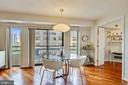 Room for entertaining - 2111 WISCONSIN AVE NW #516, WASHINGTON