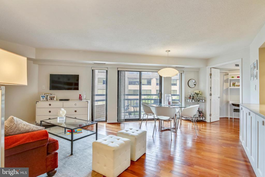 Hardwood Floors throughout - 2111 WISCONSIN AVE NW #516, WASHINGTON