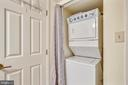 Washer/Dryer in Unit - 2111 WISCONSIN AVE NW #516, WASHINGTON