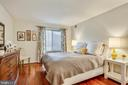 Spacious Master Bedroom - 2111 WISCONSIN AVE NW #516, WASHINGTON