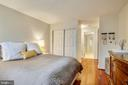 Master with Two Large Closets - 2111 WISCONSIN AVE NW #516, WASHINGTON