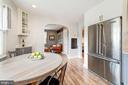 Kitchen views to adjacent LR - 3025 N WESTMORELAND ST, ARLINGTON