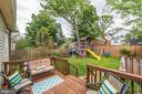 Deck for outdoor entertaining - 3025 N WESTMORELAND ST, ARLINGTON