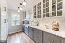 Classic white upper cabinets and warm gray lowers - 3025 N WESTMORELAND ST, ARLINGTON