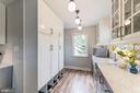 Built in storage cabinets for organization - 3025 N WESTMORELAND ST, ARLINGTON