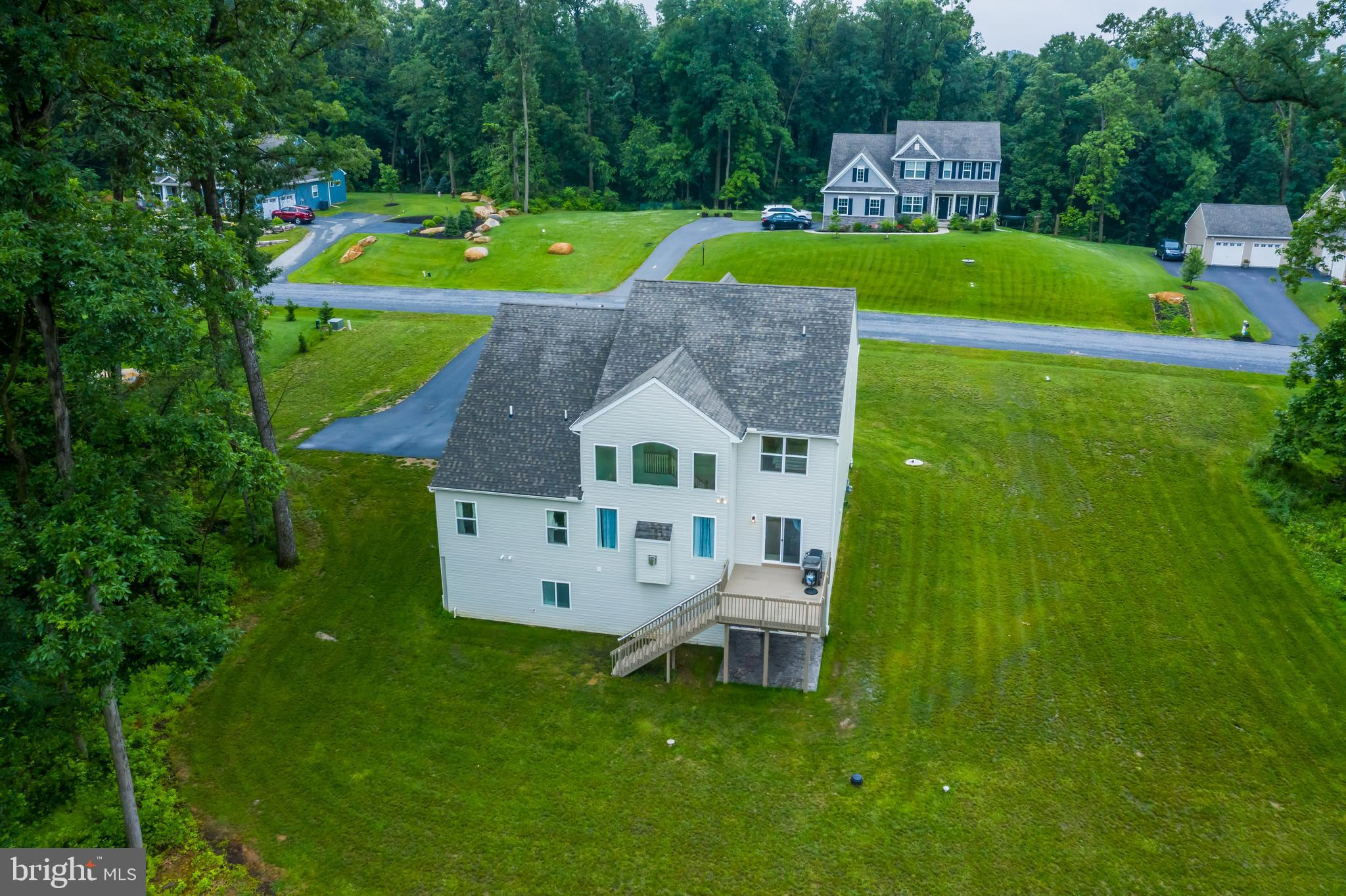 Situated on 1.32 acres