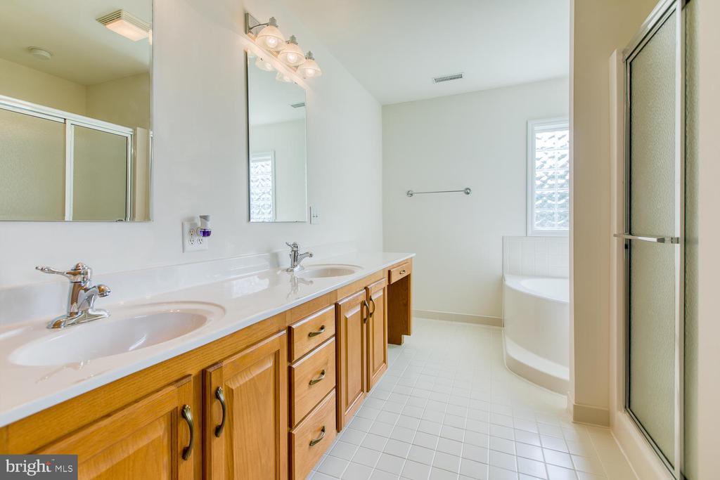 Dual master bath sinks - 102 GLACIER WAY, STAFFORD