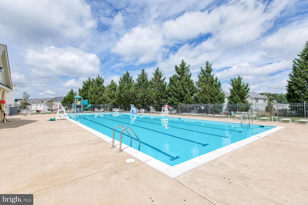 Community pool and clubhouse! - 102 GLACIER WAY, STAFFORD