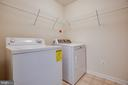 Upstairs laundry room close to bedrooms - 7 FIREHAWK DR, STAFFORD