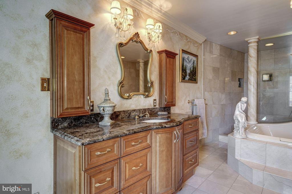 Master Bath & Separate Vanities - 4309 SUNDOWN RD, GAITHERSBURG