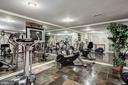 Exercise Room & Mirrored Wall - 4309 SUNDOWN RD, GAITHERSBURG