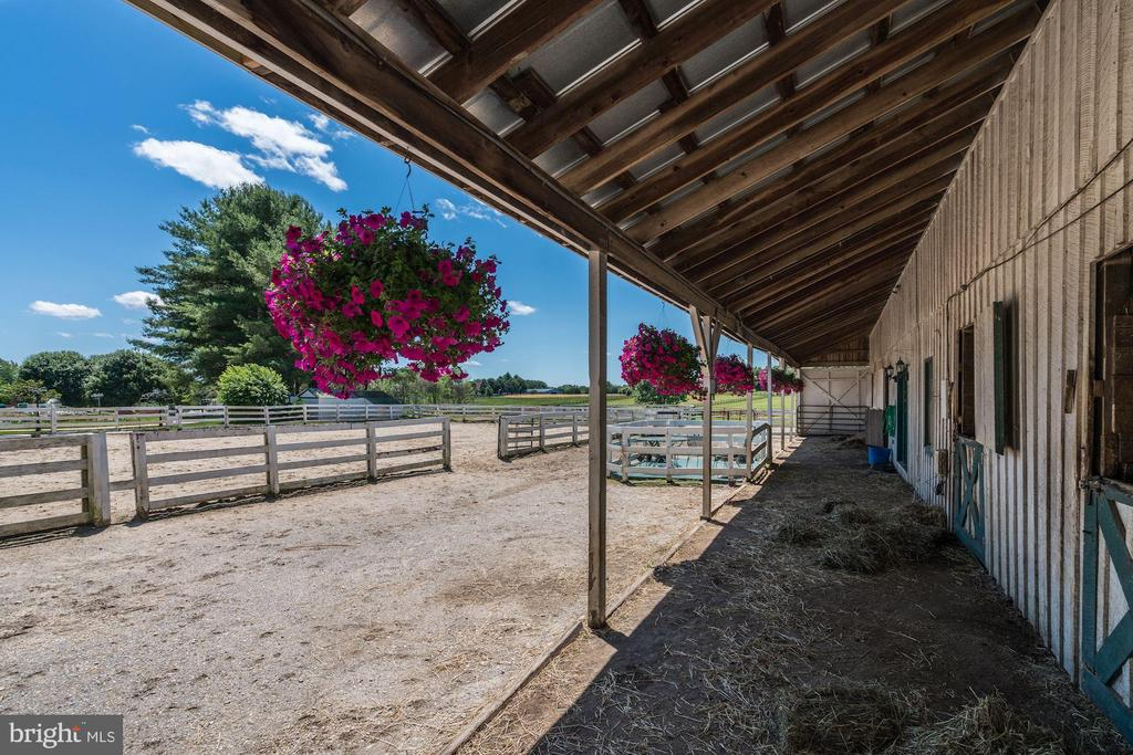 Large Barn & Riding Ring - 4309 SUNDOWN RD, GAITHERSBURG