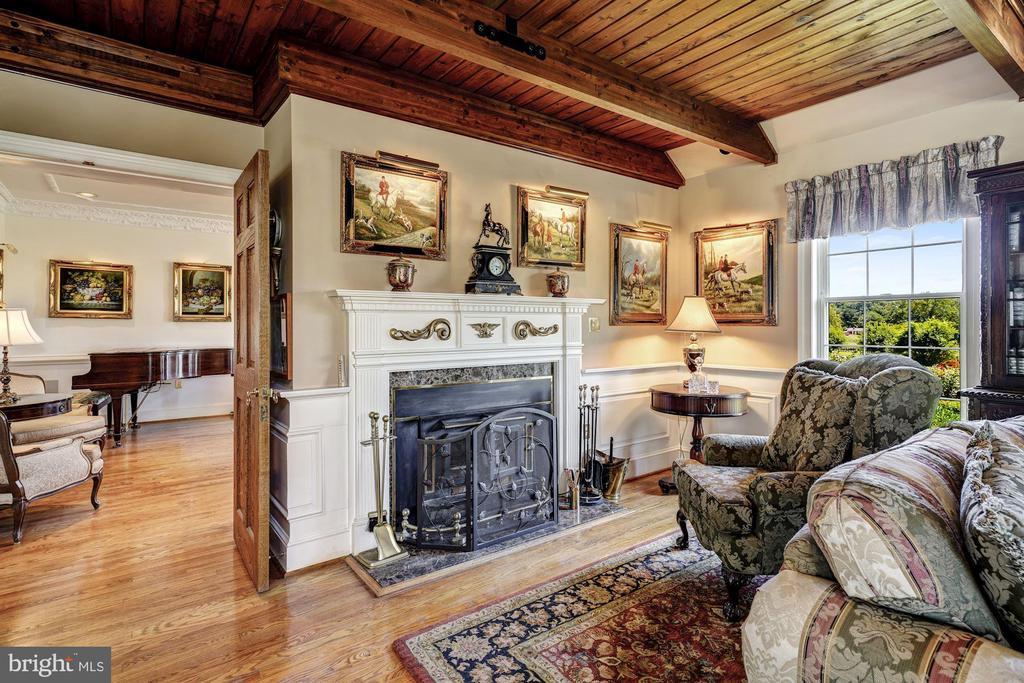 Study & Fireplace - 4309 SUNDOWN RD, GAITHERSBURG