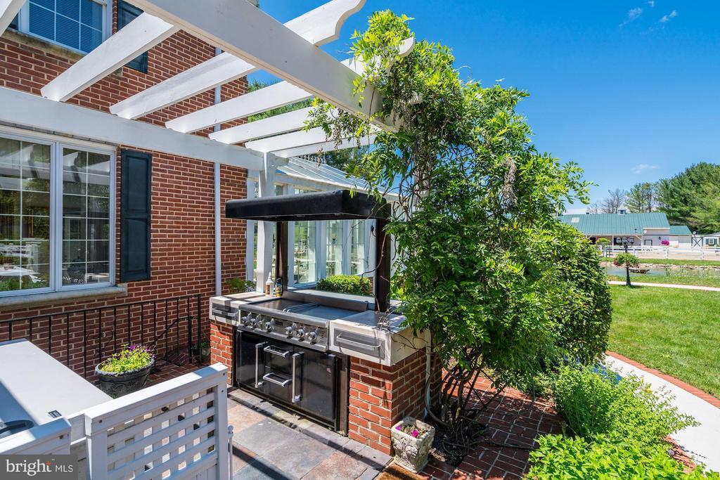 Outdoor Cook Station & Pergola - 4309 SUNDOWN RD, GAITHERSBURG
