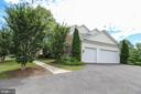 Three Car Garage - 25189 BLACKSTONE CT, CHANTILLY