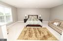Master Bedroom - 25189 BLACKSTONE CT, CHANTILLY