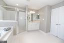 Master Bathroom Separate Shower - 25189 BLACKSTONE CT, CHANTILLY