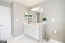 Master Bathroom - 25189 BLACKSTONE CT, CHANTILLY