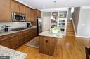 Gourmet Kitchen - 25189 BLACKSTONE CT, CHANTILLY