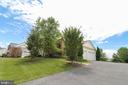 Elongated Driveway - 25189 BLACKSTONE CT, CHANTILLY