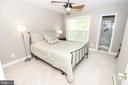 Bedroom #4 With Full Bathroom - 25189 BLACKSTONE CT, CHANTILLY