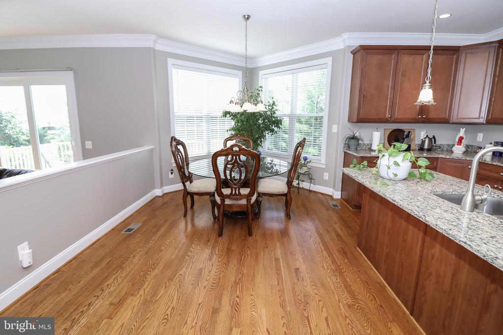Breakfast Room - 25189 BLACKSTONE CT, CHANTILLY