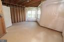 5th Legal Bedroom ready to be Finished - 25189 BLACKSTONE CT, CHANTILLY