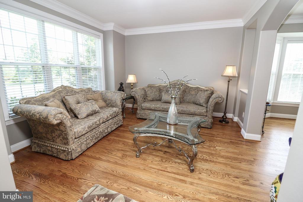 Living Room - 25189 BLACKSTONE CT, CHANTILLY