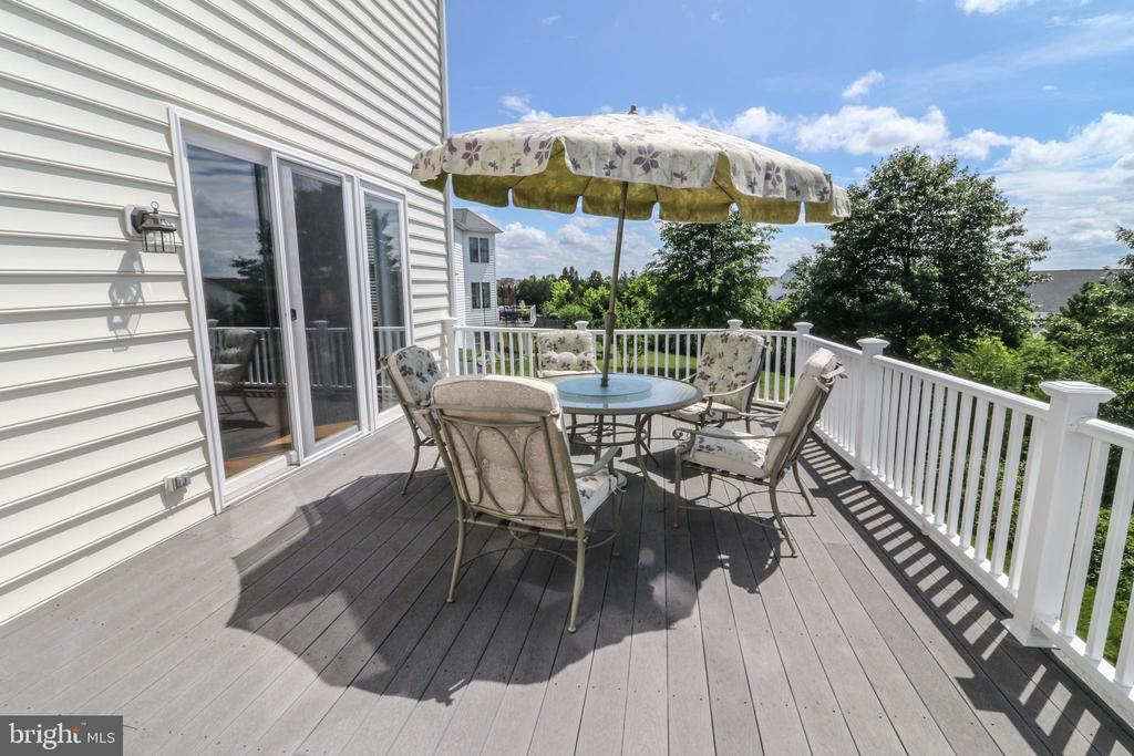 Rear Trex Deck - 25189 BLACKSTONE CT, CHANTILLY