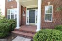 Front Porch Entrance - 25189 BLACKSTONE CT, CHANTILLY
