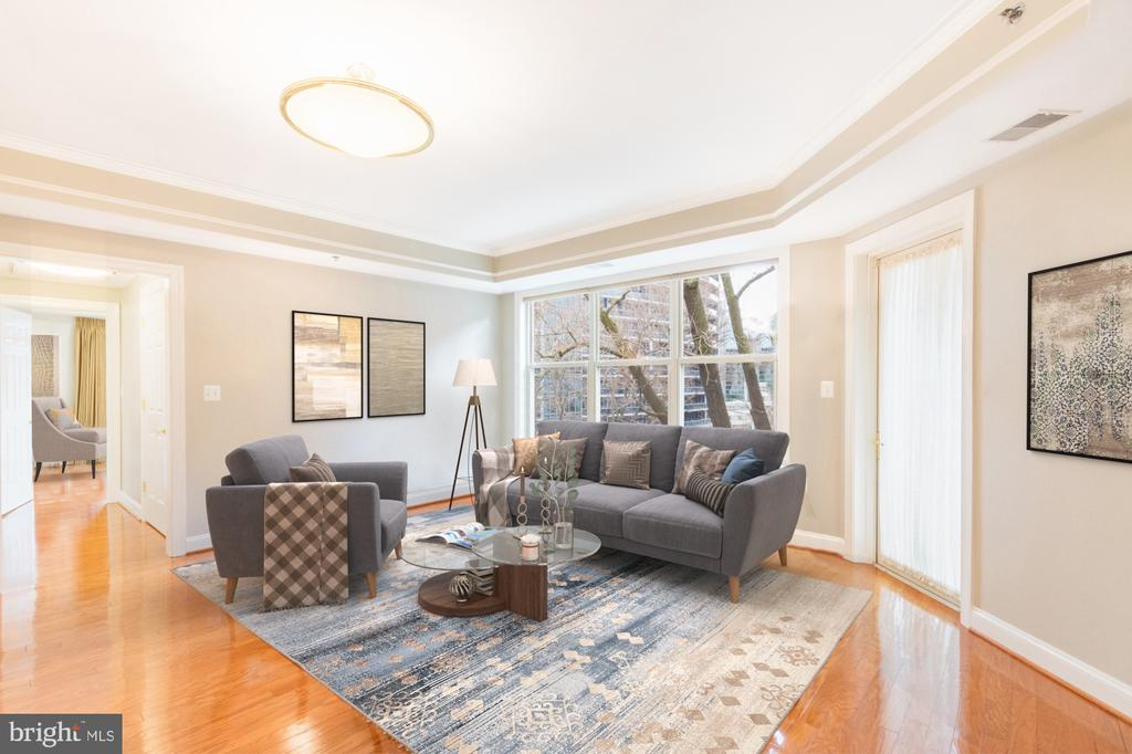 Tons of natural light - 1555 N COLONIAL TER #501, ARLINGTON