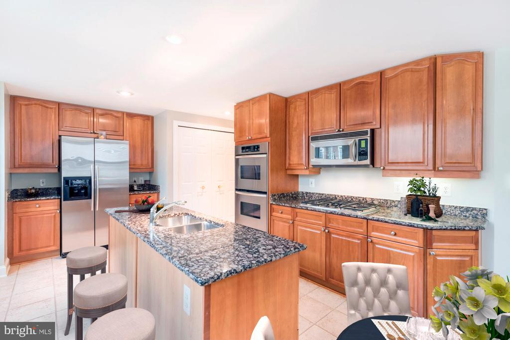 Upgraded kitchen - 1555 N COLONIAL TER #501, ARLINGTON