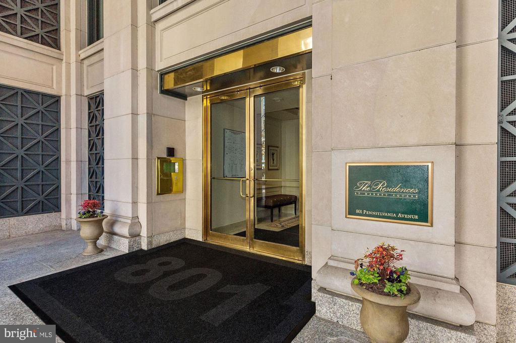 Featuring exclusive residential-only access - 801 PENNSYLVANIA AVE NW #1207, WASHINGTON