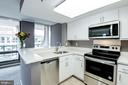 New kitchen includes stainless steel appliances - 801 PENNSYLVANIA AVE NW #1207, WASHINGTON