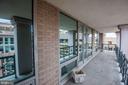 Exterior terrace for entertaining and relaxing - 801 PENNSYLVANIA AVE NW #1207, WASHINGTON