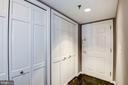 entrance way and foyer featuring closets galore - 801 PENNSYLVANIA AVE NW #1207, WASHINGTON