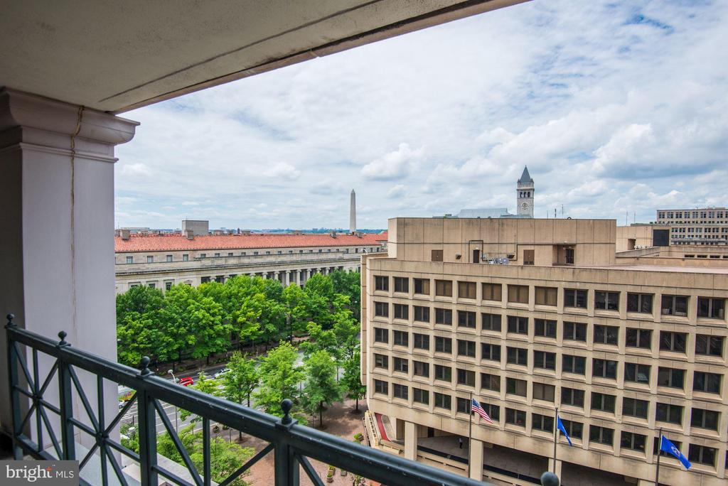 Amazing views of some of DC's finest monuments - 801 PENNSYLVANIA AVE NW #1207, WASHINGTON