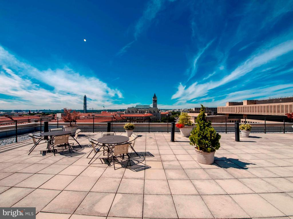 New rooftop will include a BBQ, pool and sauna - 801 PENNSYLVANIA AVE NW #1207, WASHINGTON