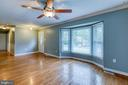 Beautiful hardwood floors - 236 WHITSONS RUN, STAFFORD