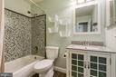 Updated hall Bathroom - 236 WHITSONS RUN, STAFFORD