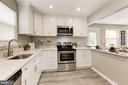 Brand new counters in kitchen - 1719 OLNEY RD, FALLS CHURCH