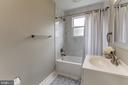 Brand new bath with ceramic tiles - 1719 OLNEY RD, FALLS CHURCH