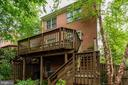 Brick front, side & back. - 8178 MADRILLON CT, VIENNA